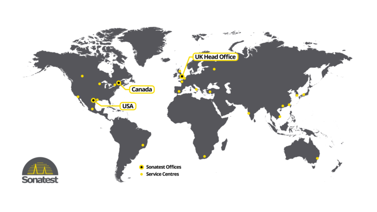 Worldwide location map for Milton Keynes, Quebec City and San Antonio