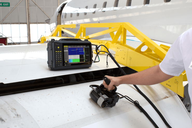RSflite sonatest ultrasonic testing flaw detector phased array linear scanning solution NDT